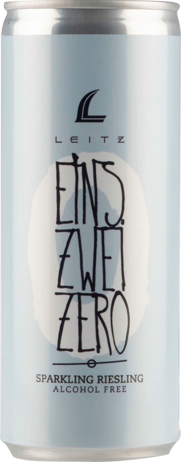 Leitz Eins-Zwei-Zero Sparkling Riesling Alcohol Free can