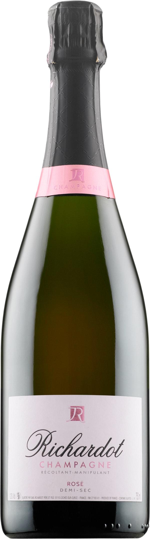 Richardot Rosé Champagne Demi-Sec