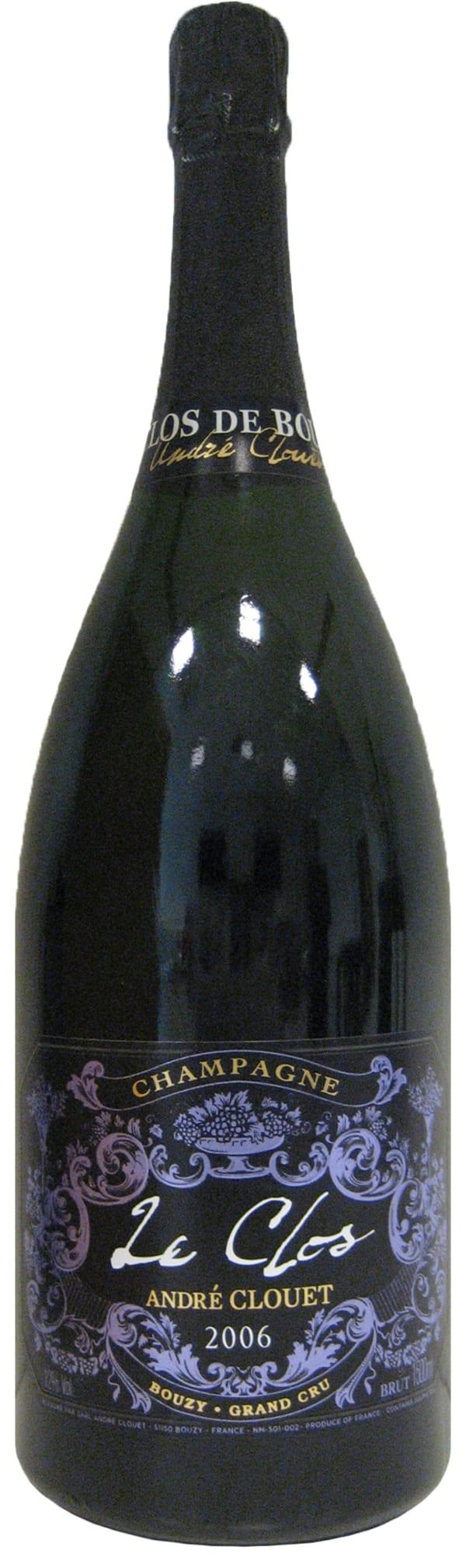 André Clouet Le Clos de Bouzy Grand Cru Champagne 2006
