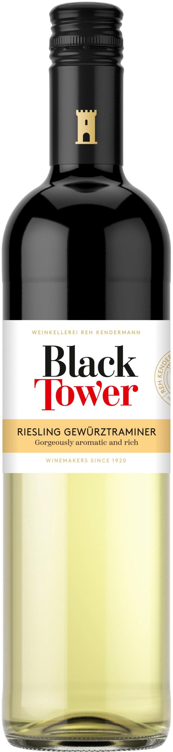 Black Tower Riesling Gewürztraminer 2017