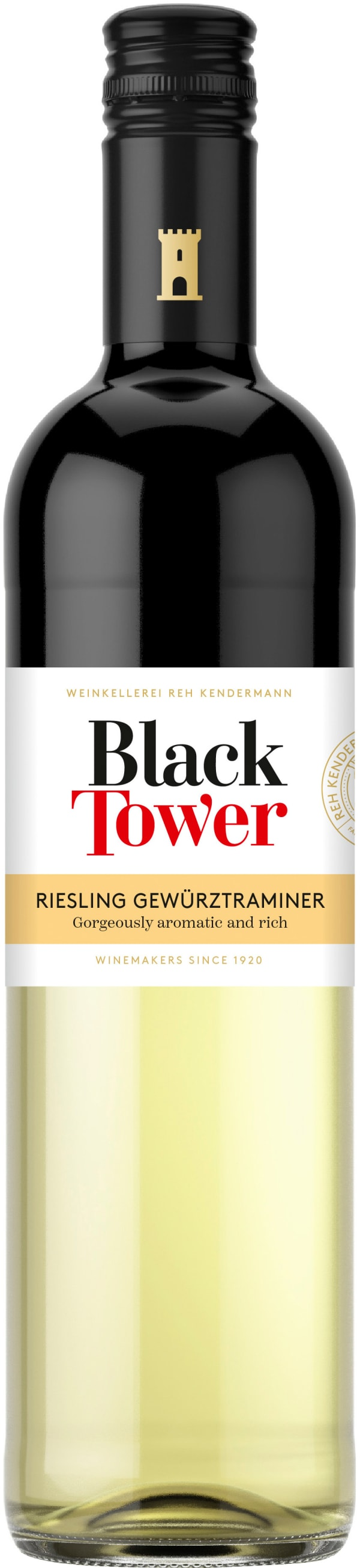 Black Tower Riesling Gewürztraminer 2019