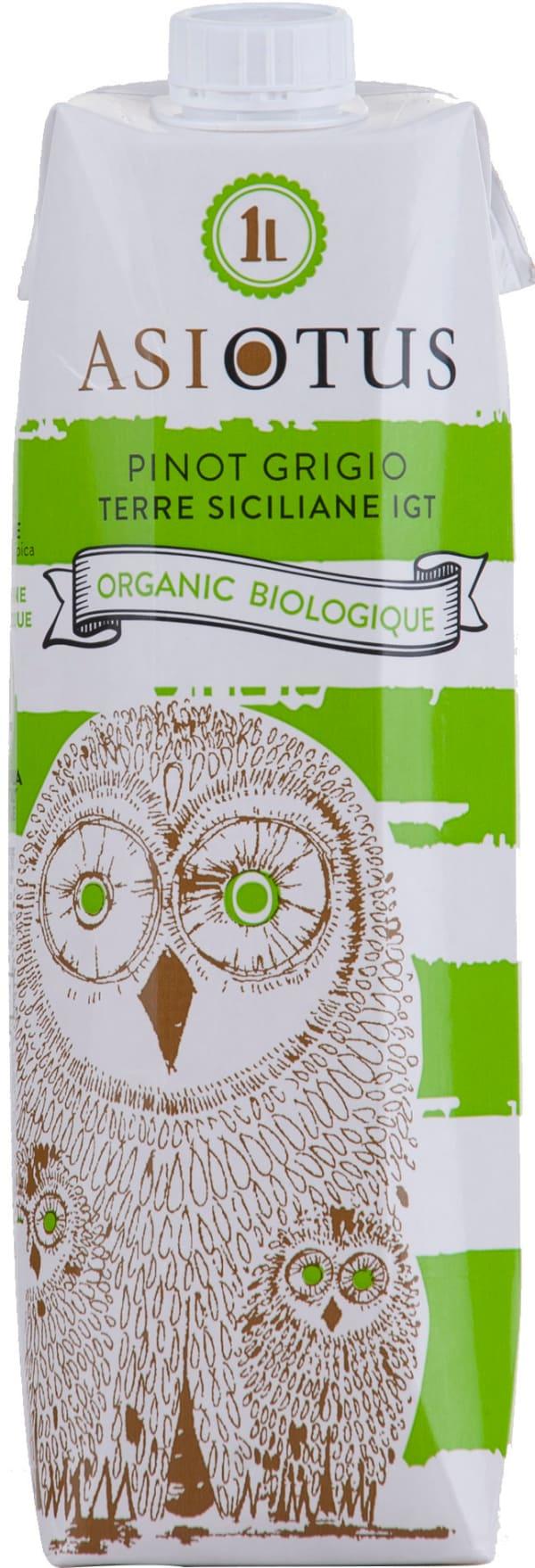 Asio Otus Pinot Grigio Organic 2016 carton package
