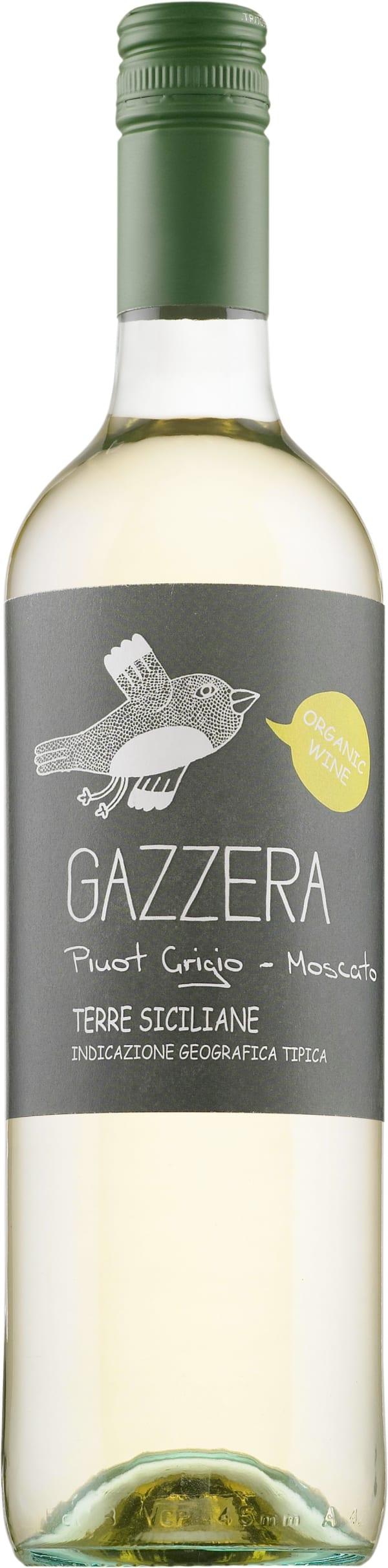 Gazzera Pinot Grigio Moscato Organic 2016