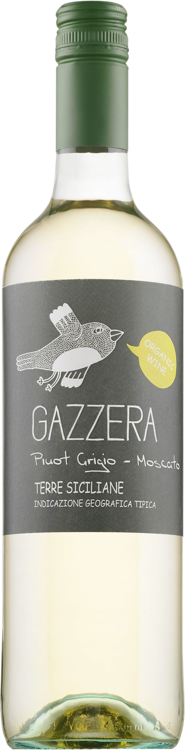 Gazzera Pinot Grigio Moscato Organic 2018