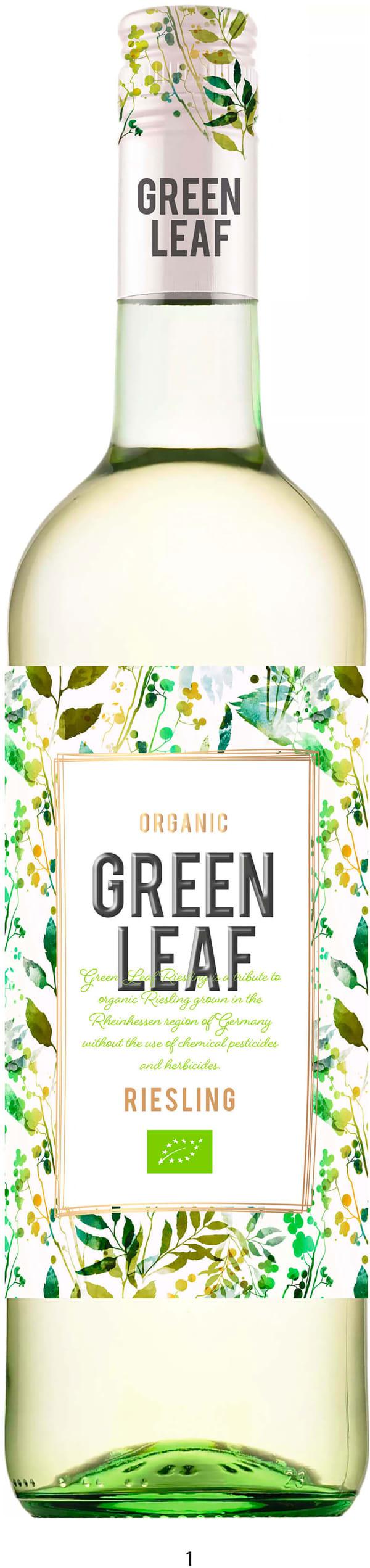 Greenleaf Organic Riesling 2018