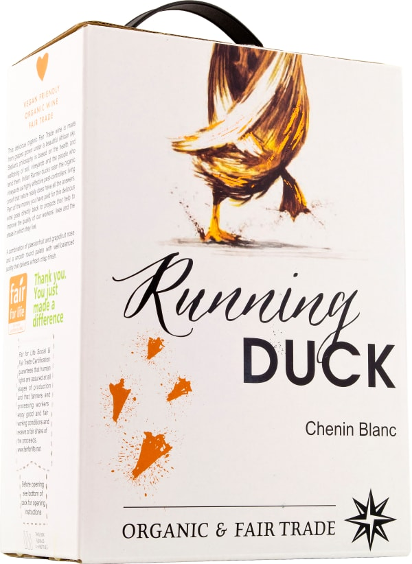 Running Duck Chenin Blanc 2018 Bag In Box White Wine Alko