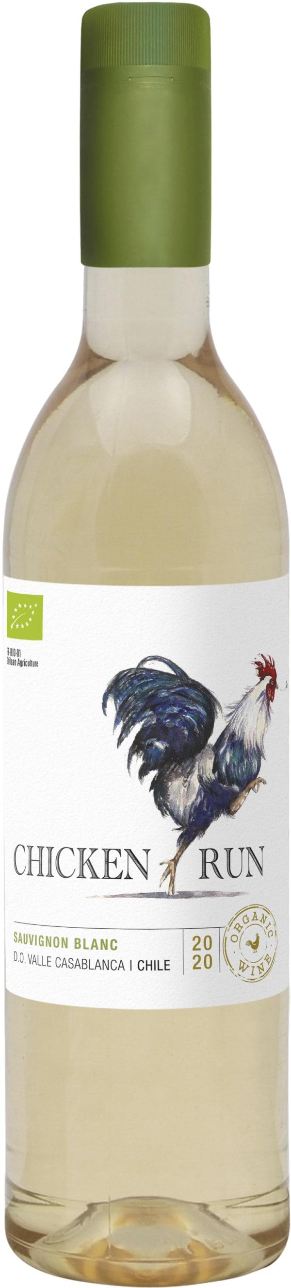 Chicken Run Sauvignon Blanc Organic 2020 plastflaska