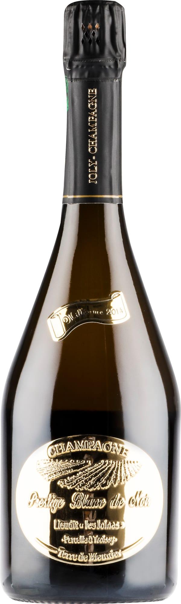 Joly Prestige Blanc de Noir Millésime Lieudit les Joines Champagne Brut 2014