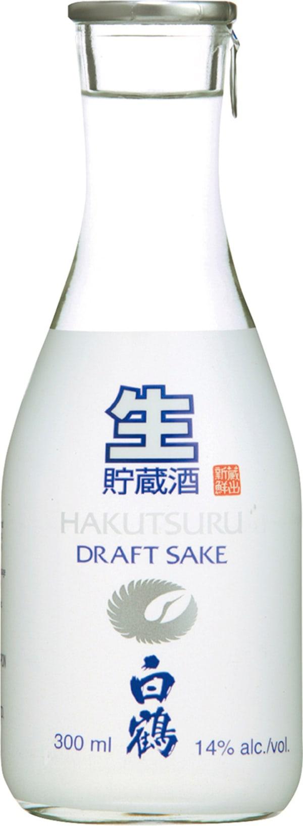 Hakutsuru Junmai Draft Sake