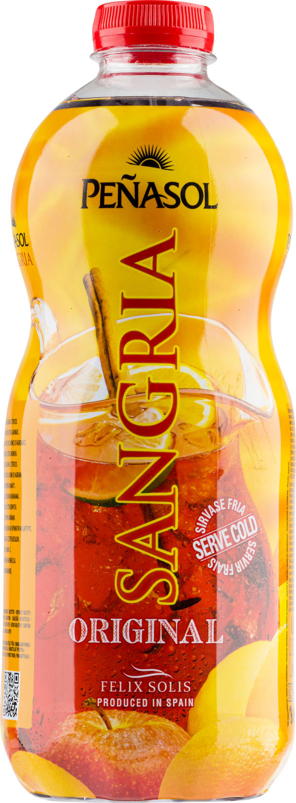 Peñasol Sangria plastic bottle