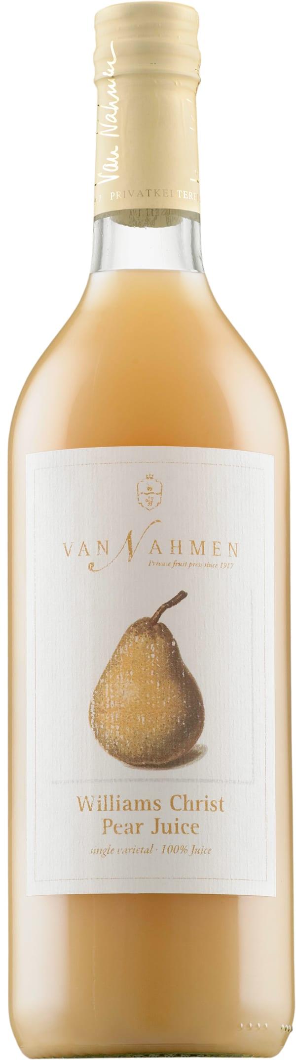 Van Nahmen Williams Christ Pear Juice