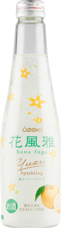 Hana-Fuga Yuzu Sparkling Sake