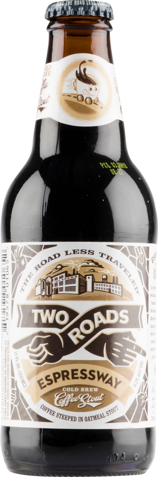 Two Roads Espressway Cold Brew Coffee Stout