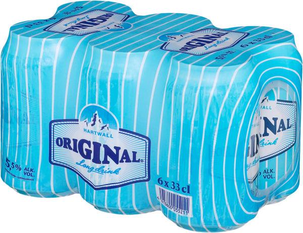 Original Long Drink 6-pack burk