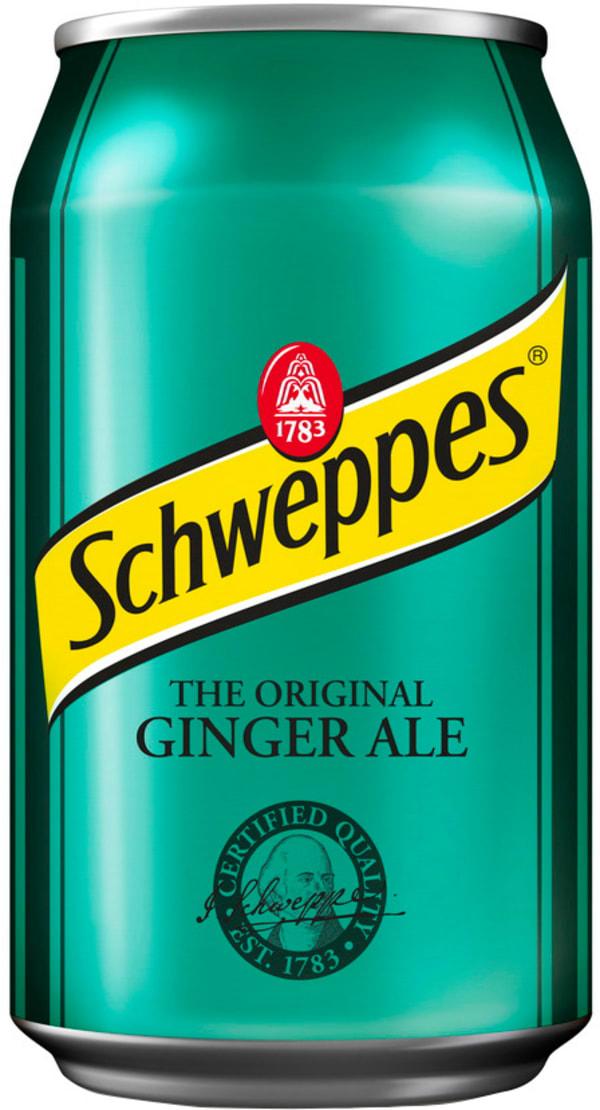 Schweppes Ginger Ale burk