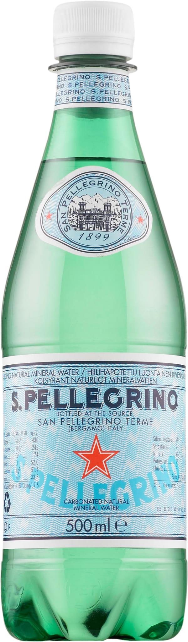 San Pellegrino plastic bottle