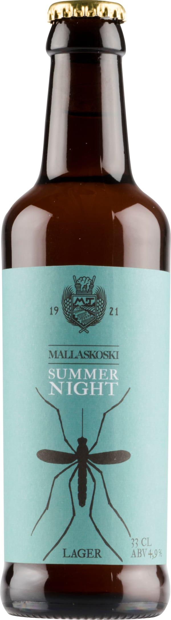 Mallaskosken Summer Night Lager