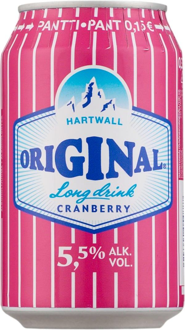 Original Long Drink Cranberry tölkki