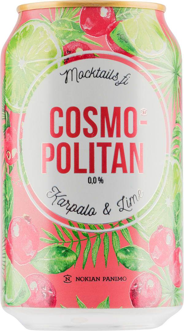 Nokian Cosmopolitan Mocktail can