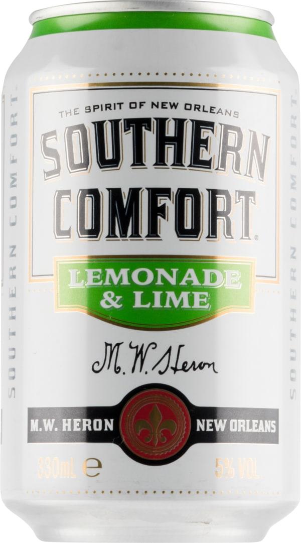 Southern Comfort Lemonade & Lime can