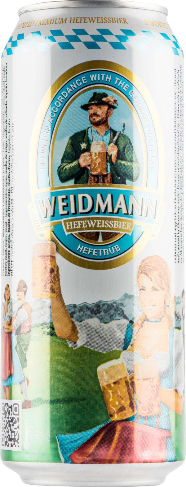 Weidmann Weissbier Hefeweizen burk