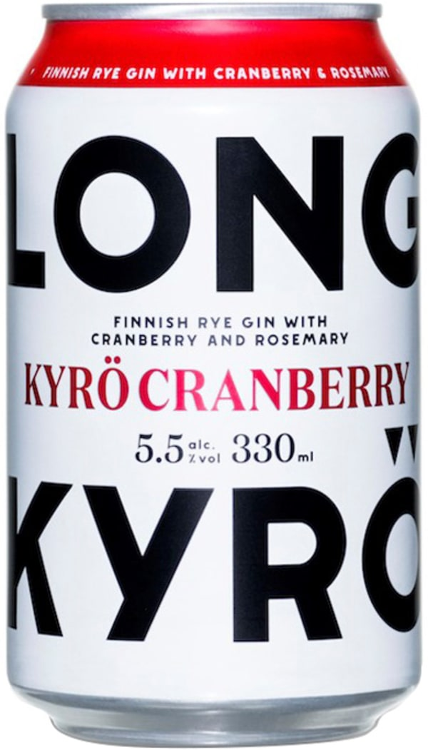 Kyrö Cranberry Long Drink can