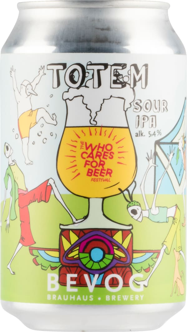 Bevog Totem Sour Ipa can
