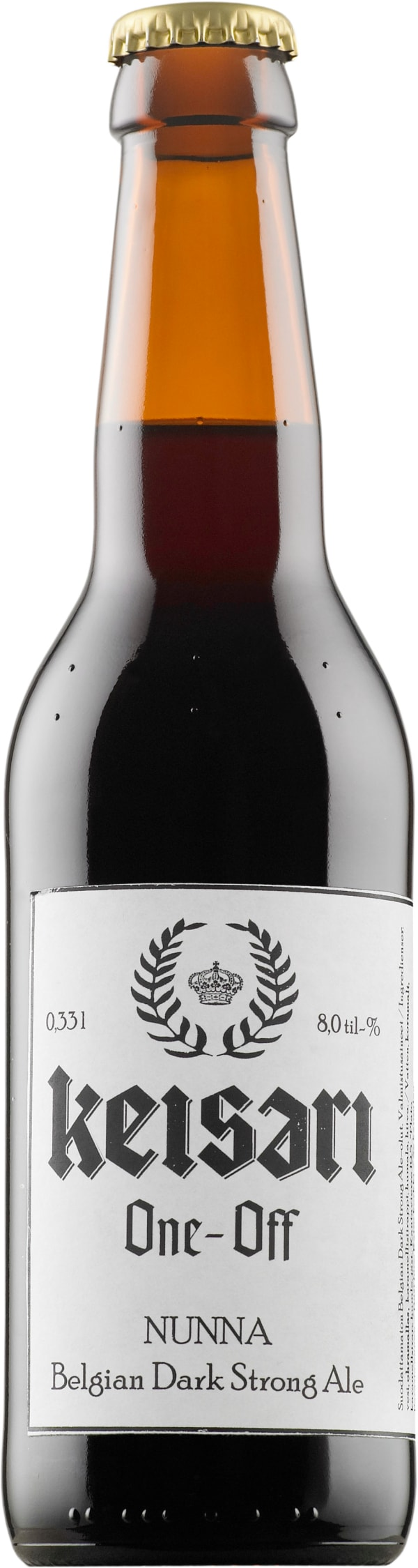 Keisari One-Off Nunna Belgian Dark Strong Ale