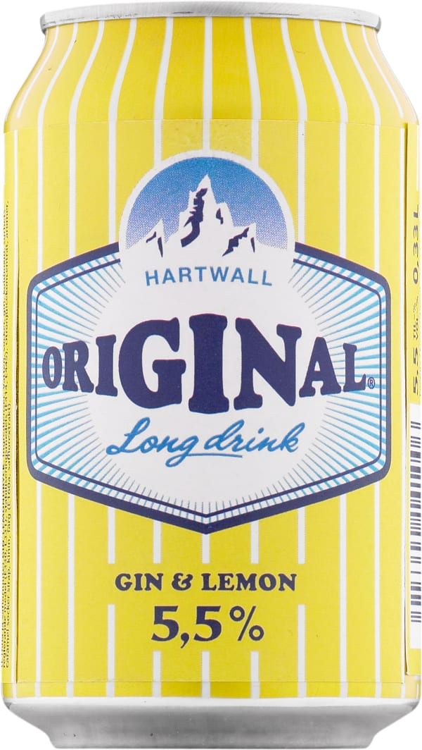 Original Long Drink Gin & Lemon can