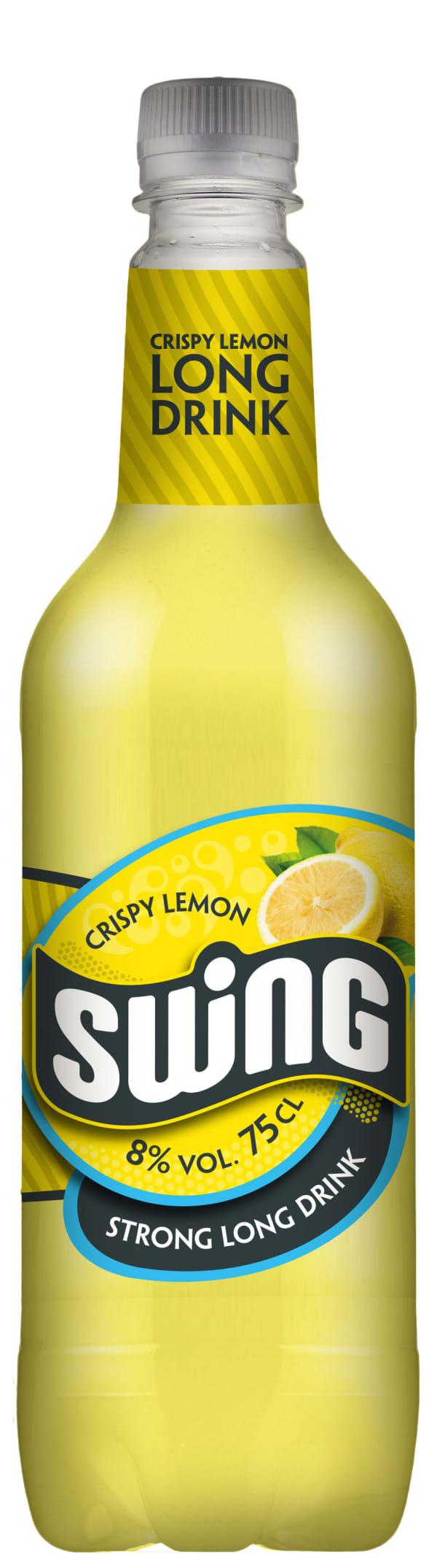 Swing Crispy Lemon Strong Long Drink plastic bottle