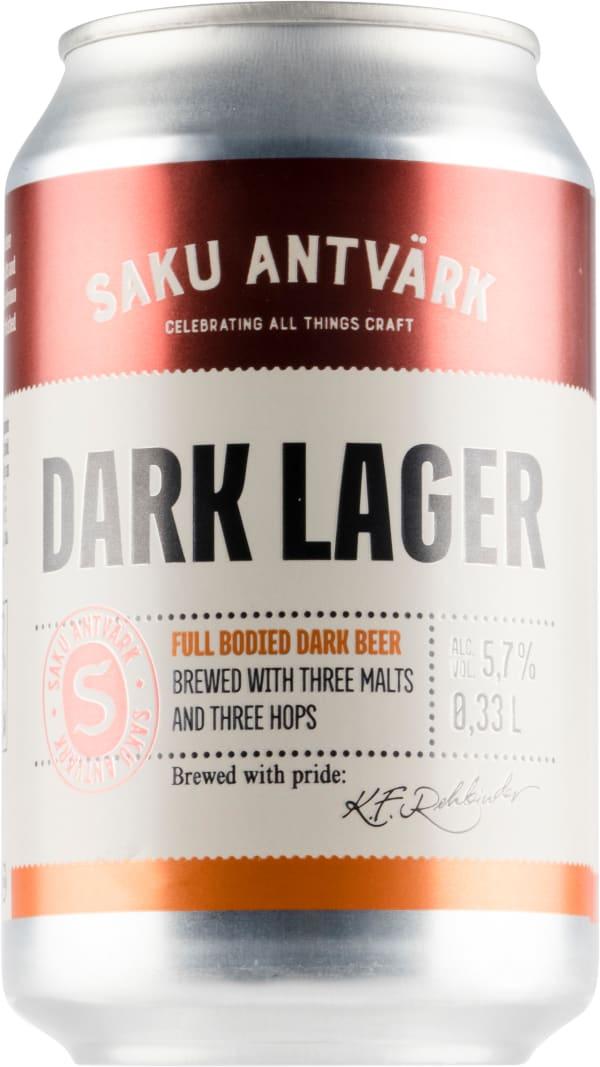 Saku Antvärk Dark Lager can
