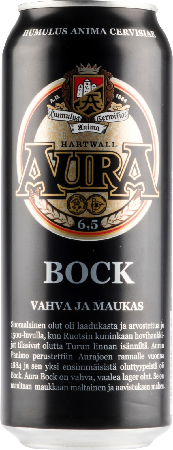 Aura Bock 6,5 can