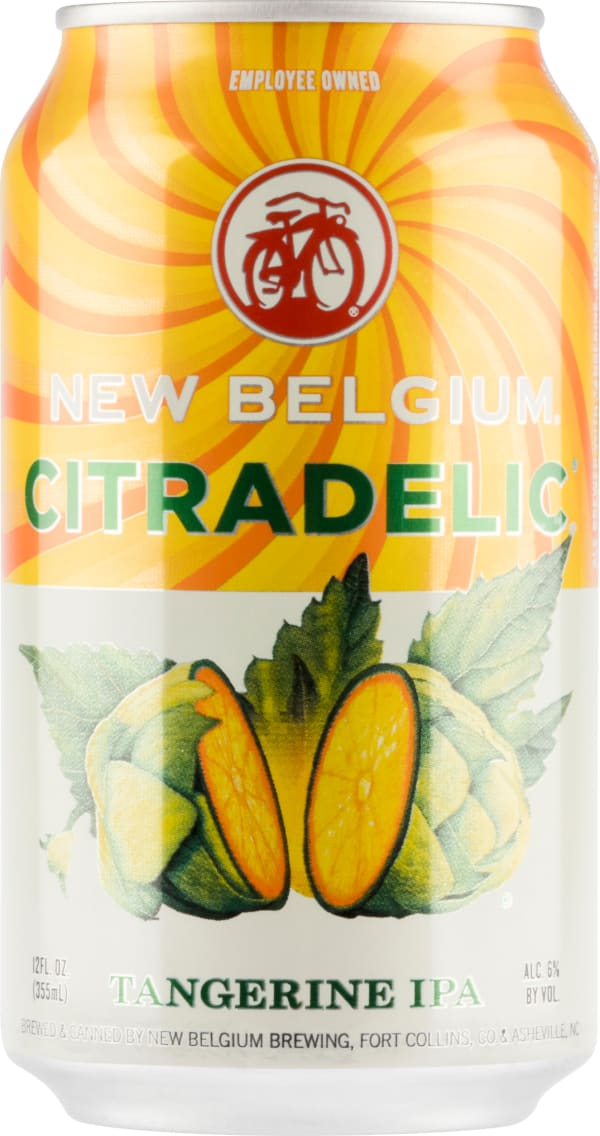 New Belgium Citradelic burk