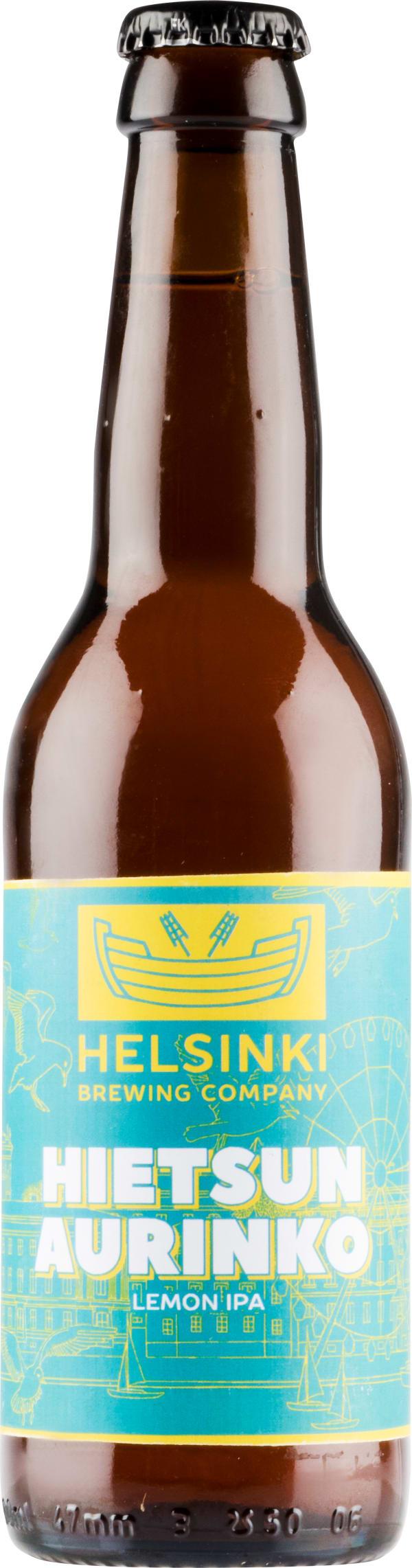 Helsinki Brewing Hietsun Aurinko Lemon IPA