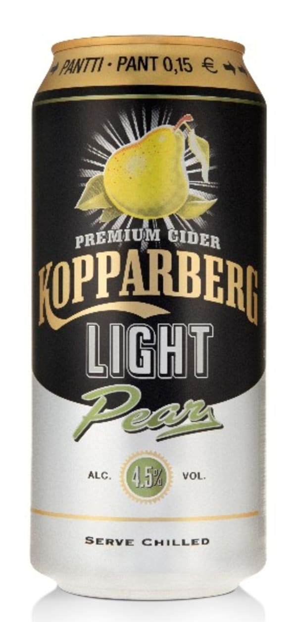 Kopparberg Pear Cider Light can