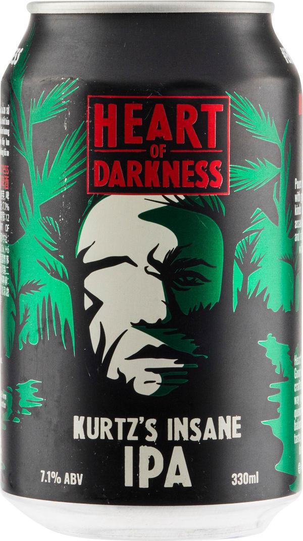 Heart Of Darkness Kurtz's Insane IPA burk