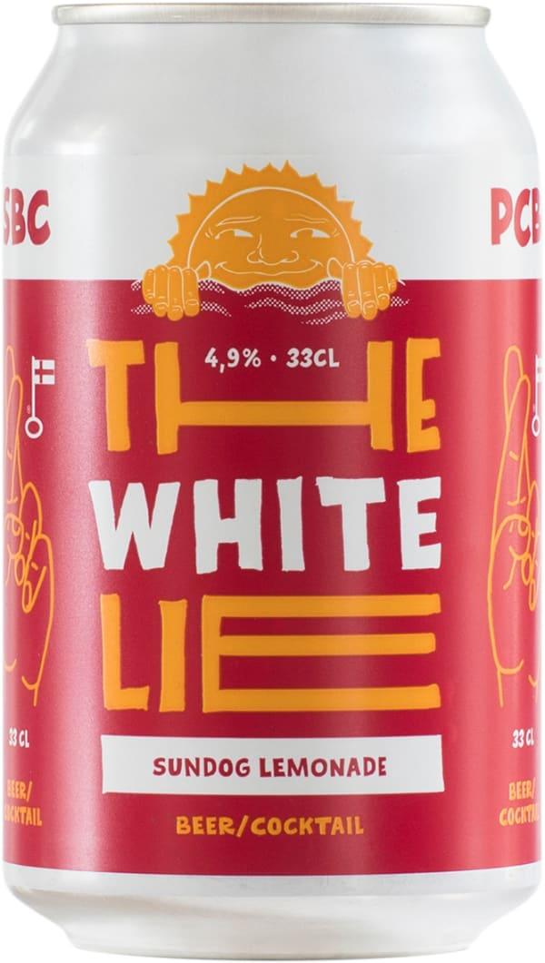 The White Lie Sundog Lemonade can