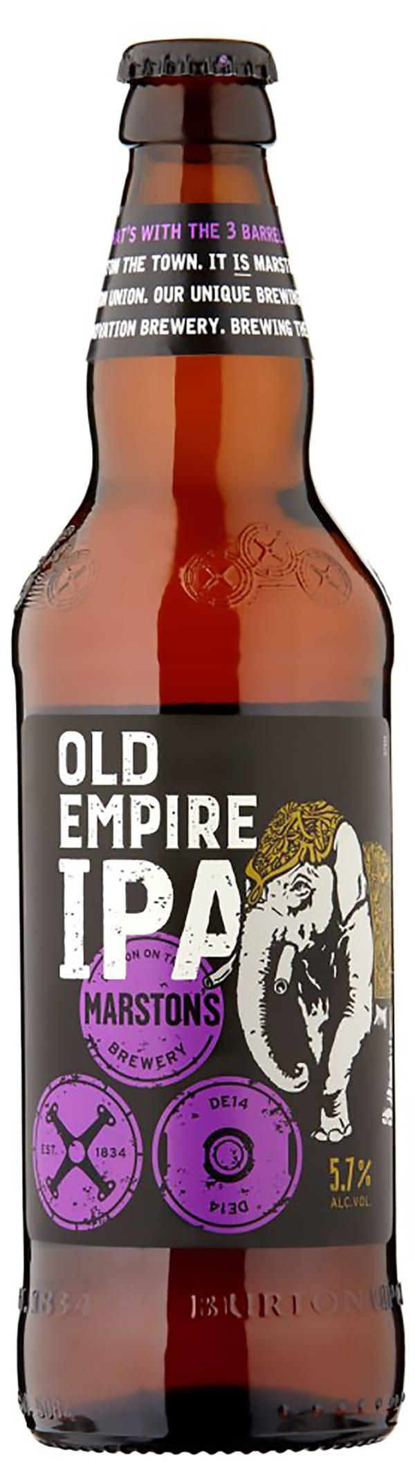 Marston's Old Empire India Pale Ale
