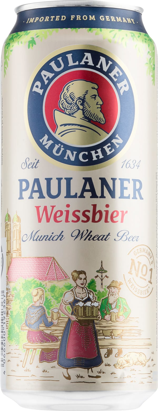 Paulaner Hefe-Weissbier burk