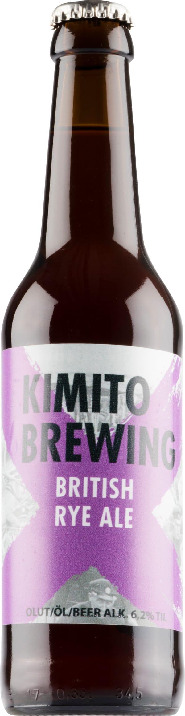 Kimito British Rye Ale