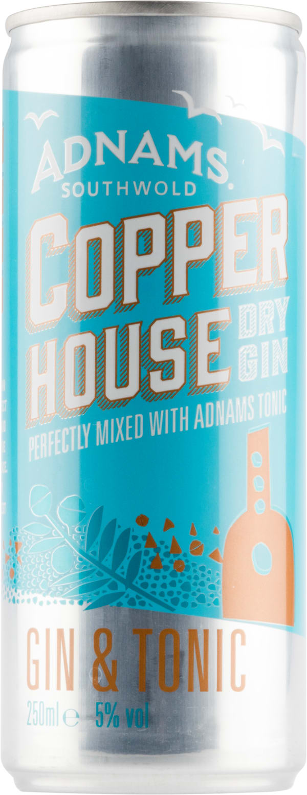 Adnams Copper House Gin & Tonic can