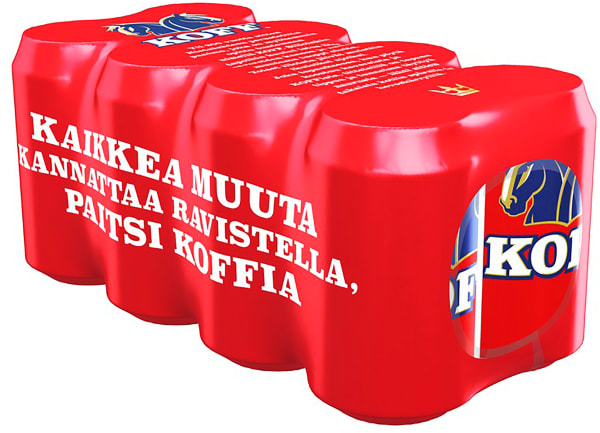 Koff 8-pack can