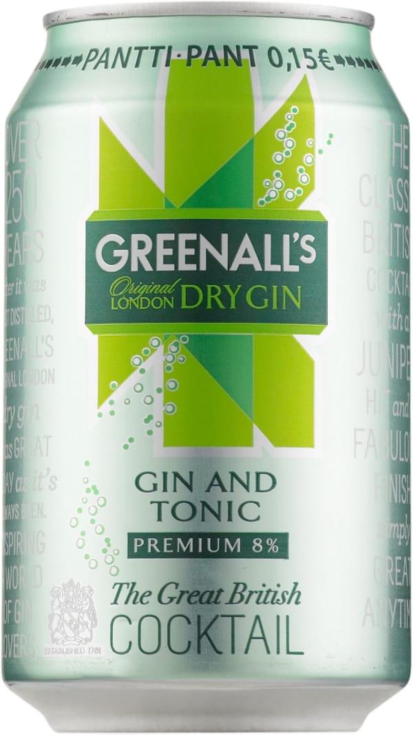 Greenall's London Dry Gin & Tonic burk