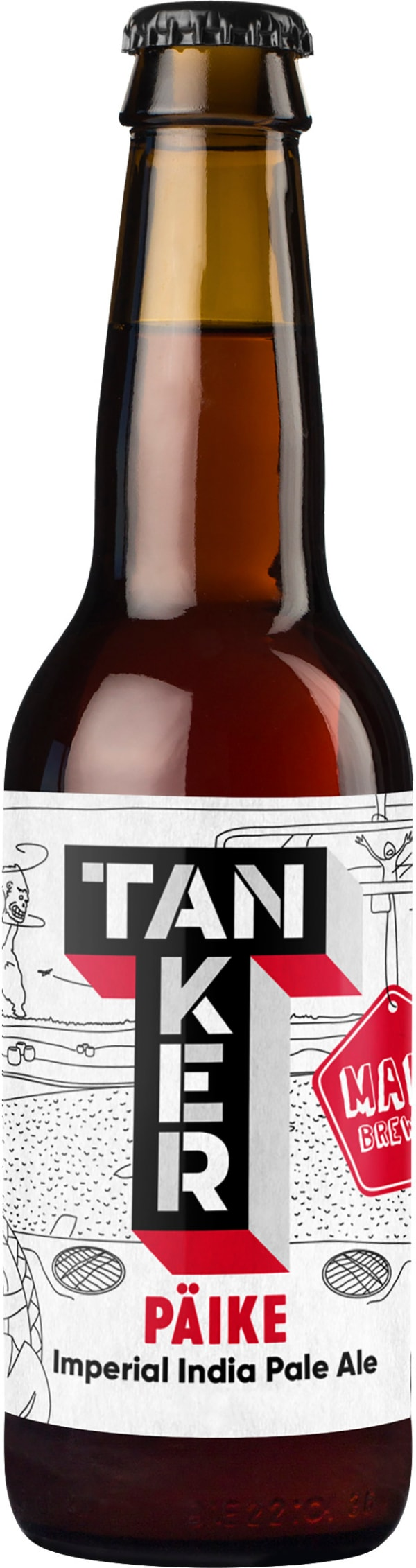 Tanker & Maku Päike Imperial India Pale Ale