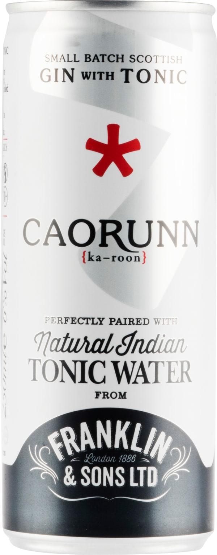 Caorunn Gin with Tonic burk