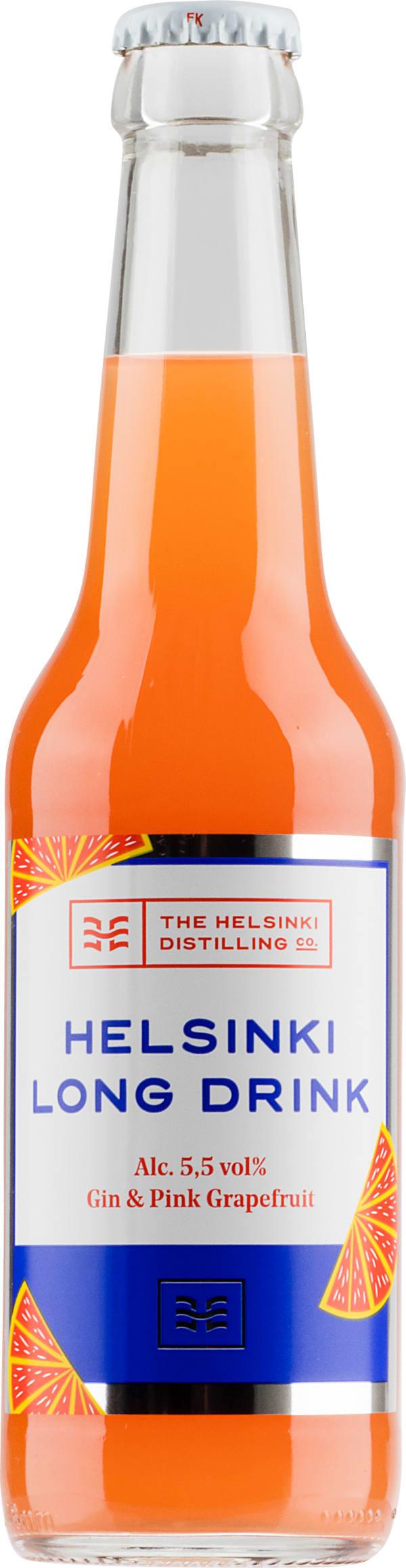 Helsinki Long Drink Gin & Pink Grapefruit