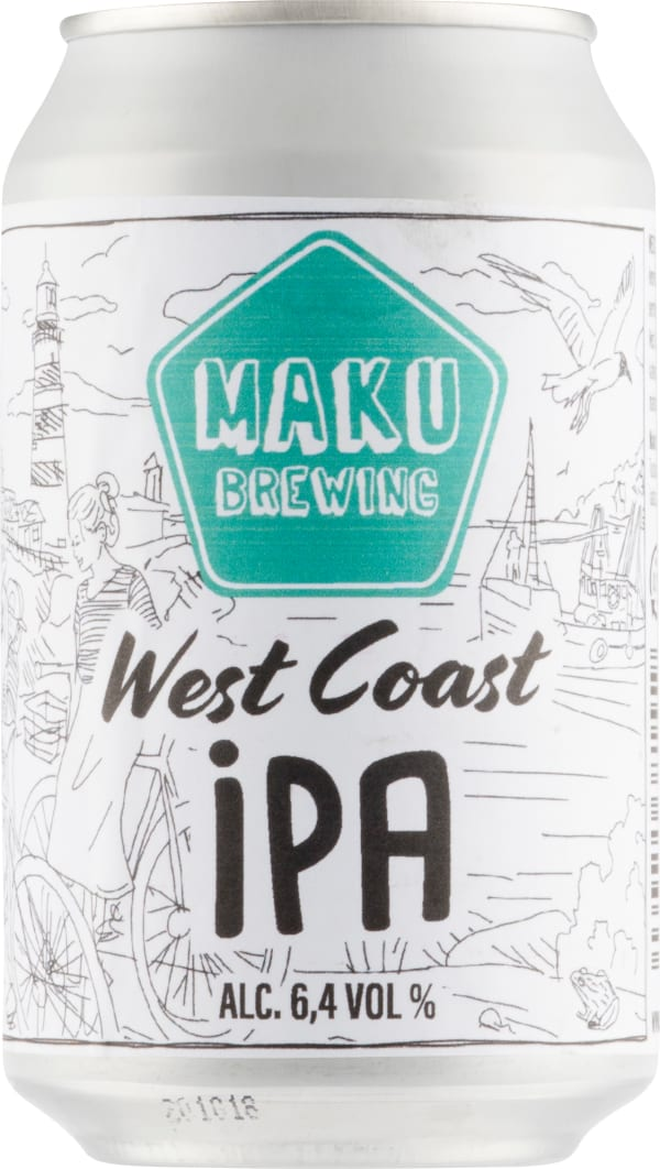 Maku West Coast IPA can