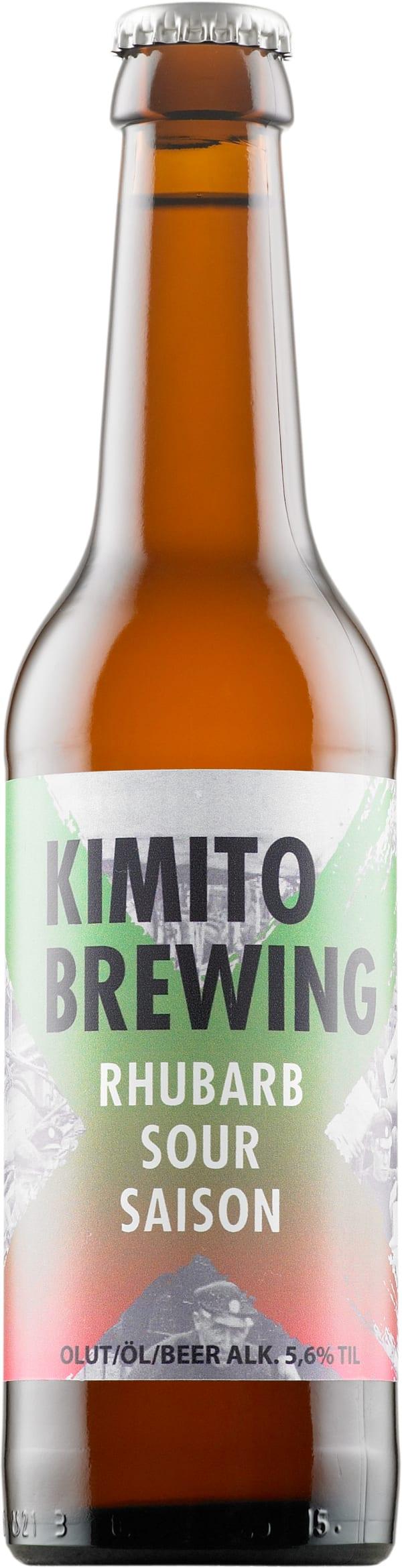 Kimito Rhubarb Sour Saison