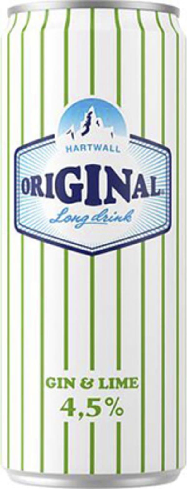 Hartwall Original Long Drink Gin & Lime can