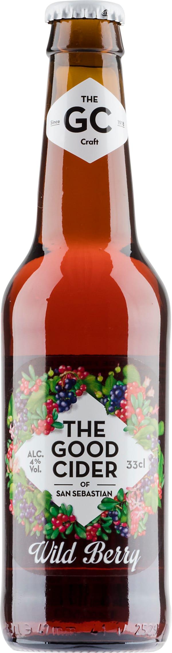 The Good Cider of San Sebastian Wild Berry